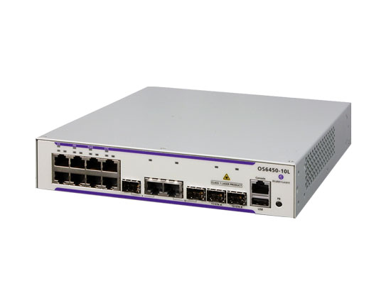 Alcatel OmniSwitch 6450 Stackable Gigabit Ethernet LAN Switch