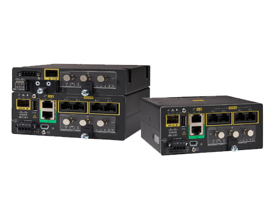 Cisco 1100 Series Industrial Integrated Services Routers