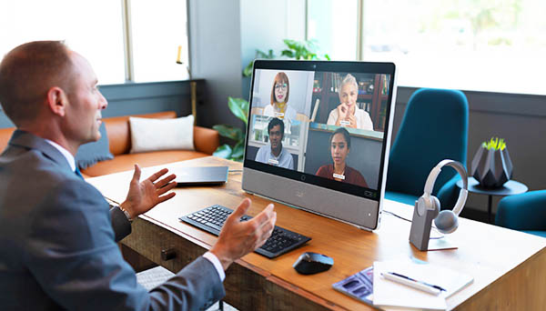 Business-class HD video at your desk
