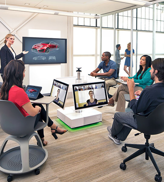 Collaborative Team Workspace